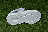 Детские модные кроссовки Найк белые р27-31, копия, фото 4