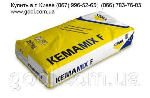 """Штукатурка декоративная полимерцементная КЕМА Kemamix F """"короед"""" 2 мм. в мешках 25 кг."""