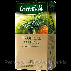 "Чай зеленый в пакетиках Greenfield ""Tropical Marvel"" 25шт Ананас"