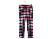 Пижамные,домашнии фланелевые штаны клетка 38-42, фото 1