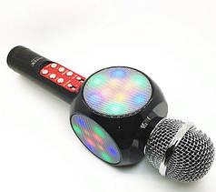Детский многофункциональный караоке микрофон Wster WS-1816 Original