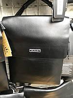 Чоловіча сумка через плече від фірми Balibolo шкіряний клапан опт/роздріб