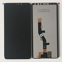 Дисплей (экран) для Meizu Note 8 + тачскрин, черный, оригинал