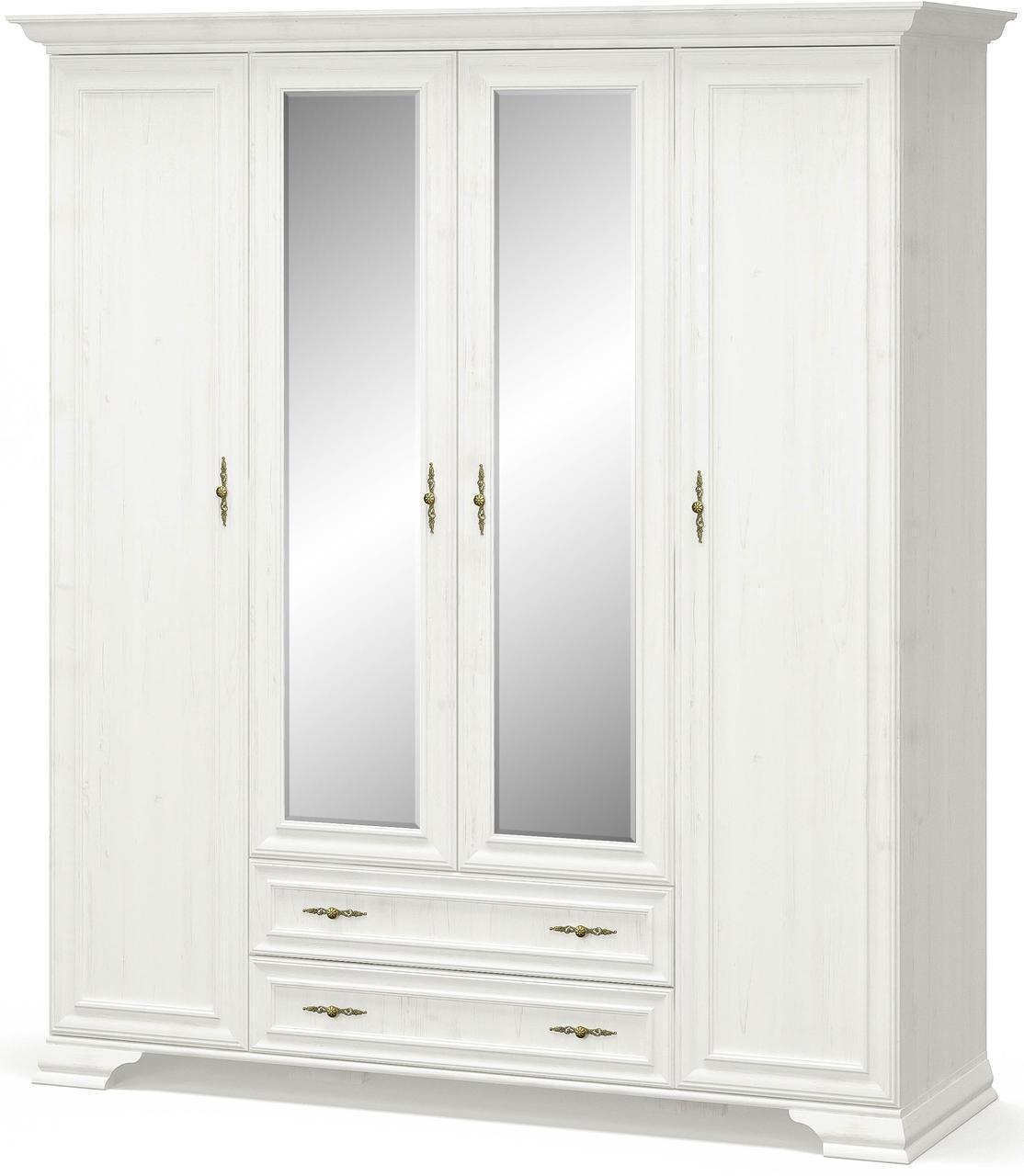 Шкаф 4Д Ирис Андерсон пайн Мебель Сервис (189.6х62.2х212 см)
