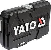 Набор торцевых головок 38 предметов YATO YT-14471, фото 3