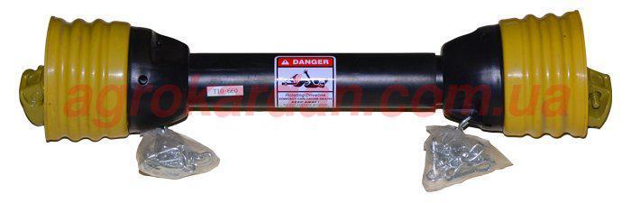 Вал карданний для сільгосптехніки 460 мм, хрест. 22х54, 6 шліц/8 шліц