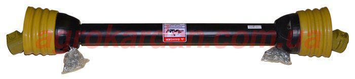 Вал карданний для сільгосптехніки 810 мм, хрест. 23,8х61,3, 6 шліц/8 шліц