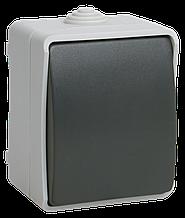Выключатель одноклавишный для открытой установки 10 А/250 В~ВС20-1-0-ФСр IP54