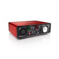USB аудиоинтерфейс Focusrite Scarlett Solo New
