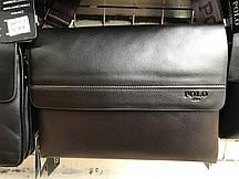 Мужская горизонтальная сумка от фирмы Polo опт/розница