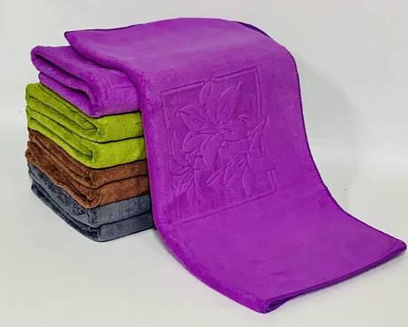 Полотенца лилия в квадрате, фото 2