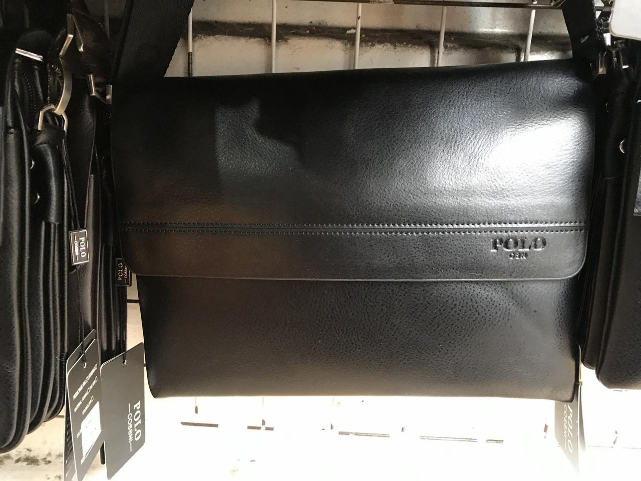 Чоловіча горизонтальна сумка від фірми Polo опт/роздріб