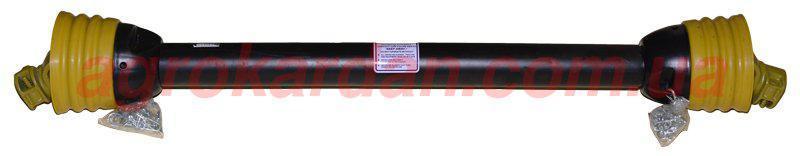 Вал карданный для сельхозтехники 980 мм, крест. 27х70, 6 шлиц/8 шлиц