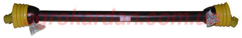 Вал карданный для сельхозтехники 1300 мм, крест. 27х70, 6 шлиц/8 шлиц