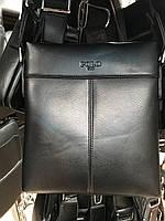 Чоловіча сумка через плече від фірми Polo без клапана опт роздріб