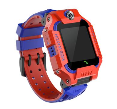 """Дитячий розумний годинник SUNROZ Q88 Escort смарт-годинник 1.44"""" LBS Червоно-Синій (SUN6543)"""