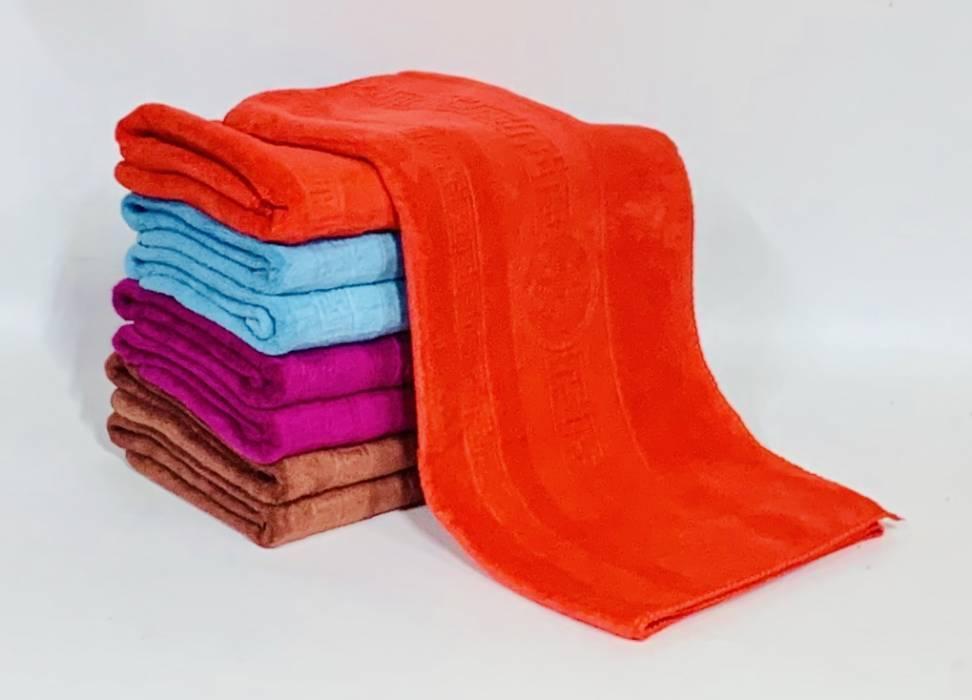 Полотенца Версаче яркие Микрофибра