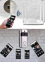 Беспроводной видеозвонок с датчиком движения и WI-FI Eken V5 Смарт