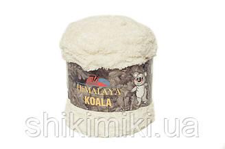 Пряжа велюровая Himalaya Koala, цвет Молочный