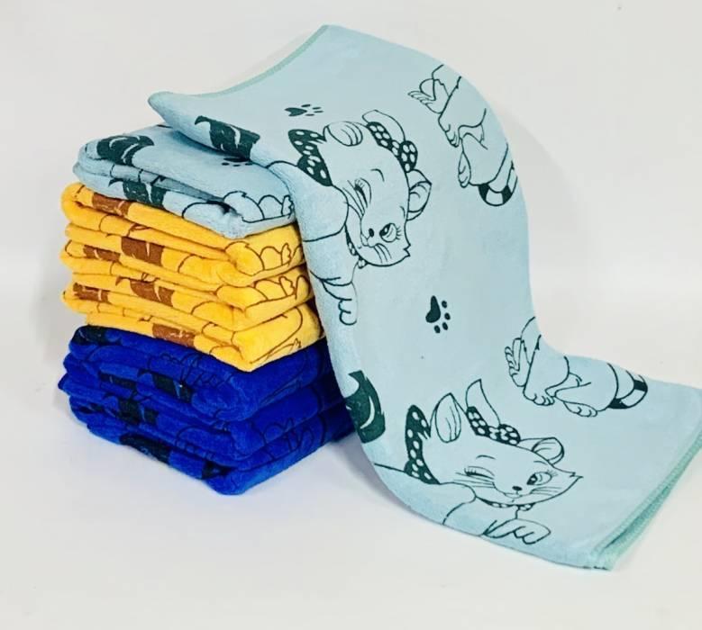 Полотенца коты с бантиками