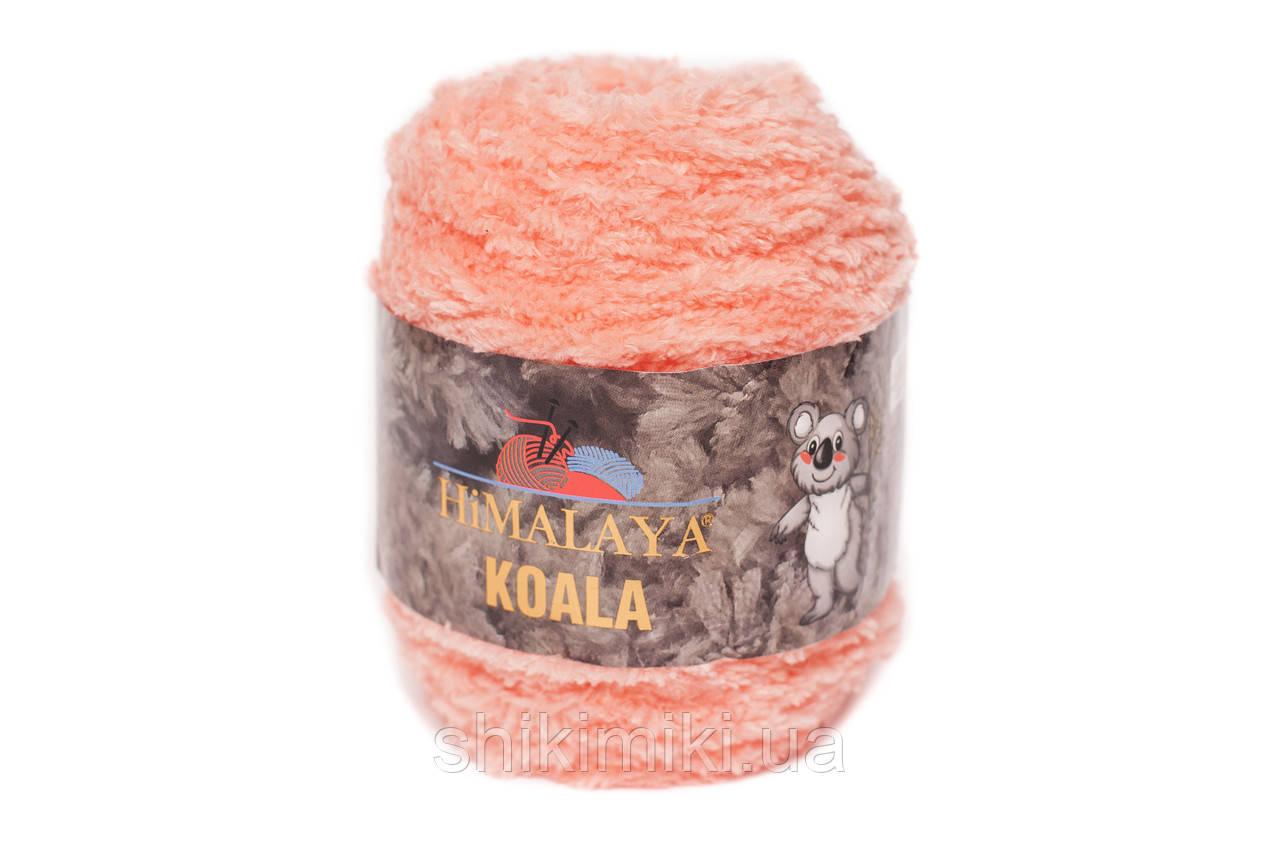 Пряжа велюровая Himalaya Koala, цвет Персиковый