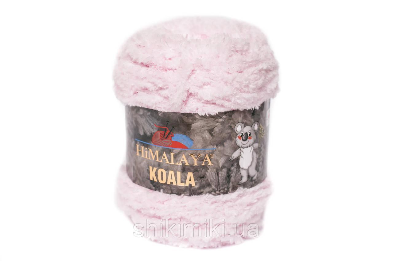 Пряжа велюровая Himalaya Koala, цвет Светло розовый