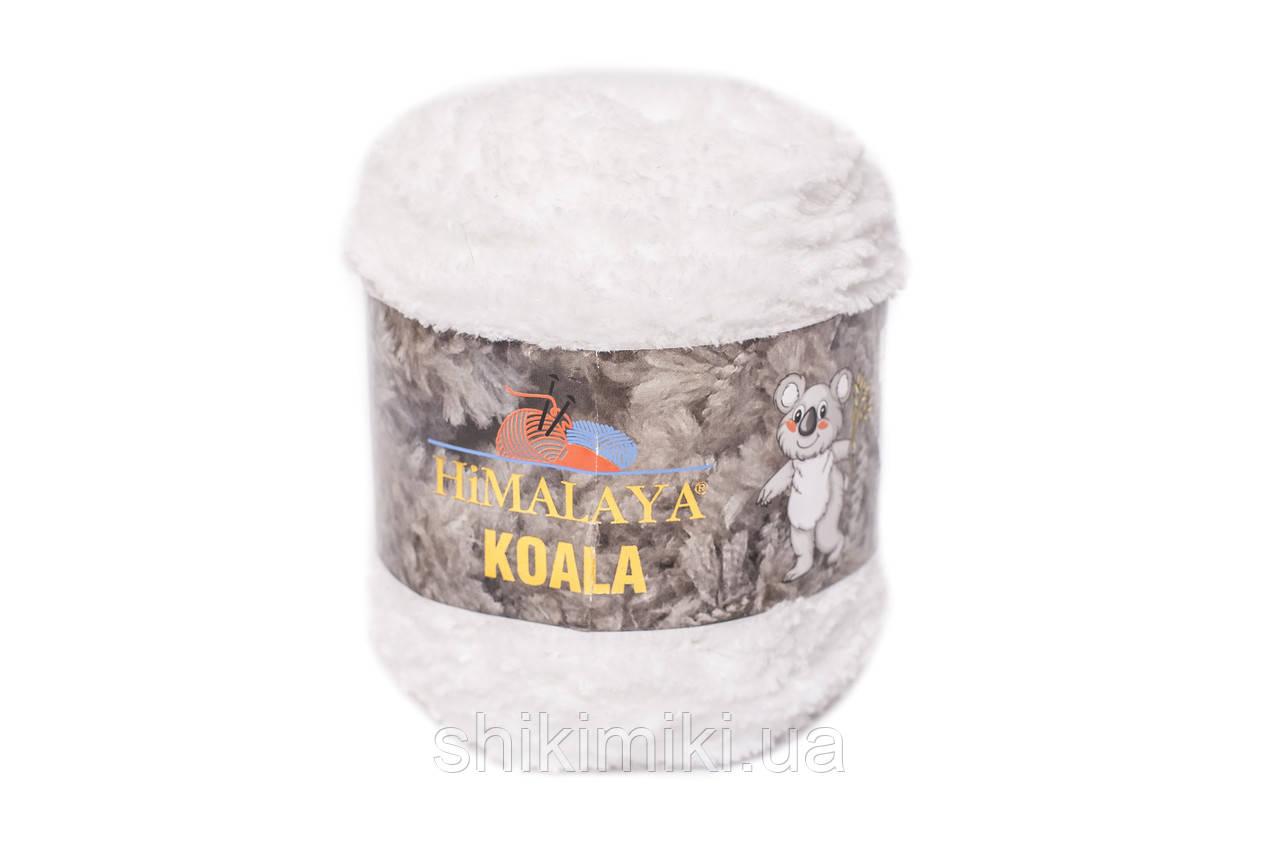 Пряжа велюровая Himalaya Koala, цвет Белый