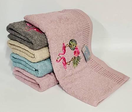 Полотенце пара фламинго, фото 2