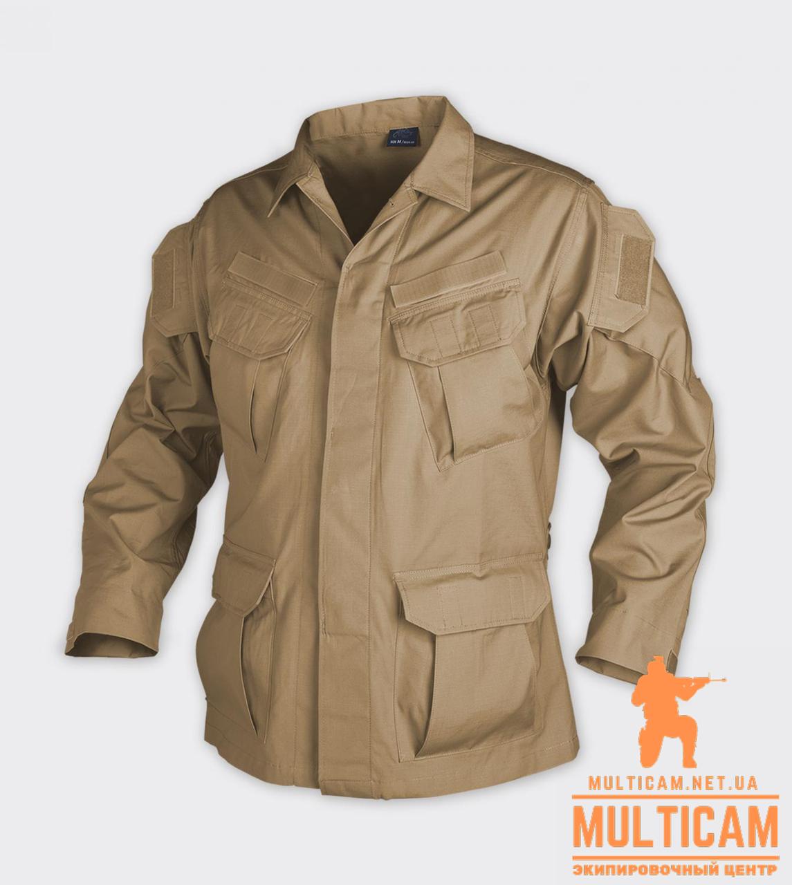 Кітель Helikon-Tex® SFU Shirt - PolyCotton Ripstop - Coyote