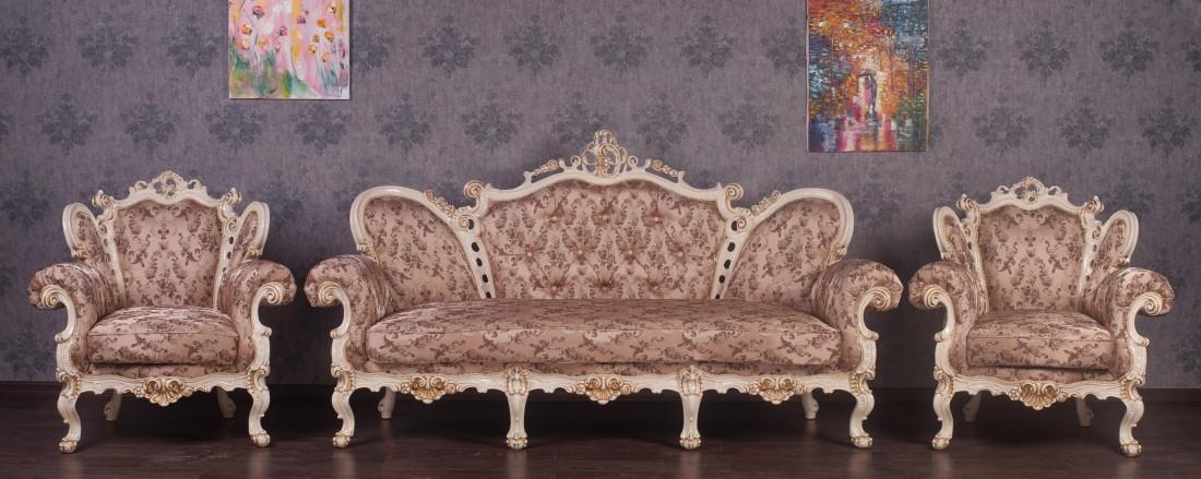 Комплект мягкой мебели Белла Курьер ткань