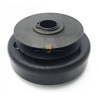 Центробежная муфта сцепления на вал 20 мм (Шкив 82 мм 1 ручей профиль А)