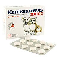 Антигельминтик для собак Каніквантель Плюс (12 таблеток)