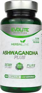 Экстракт корня ашвагандха Evolite Nutrition Ashwagandha Plus 375 mg 100 капс.