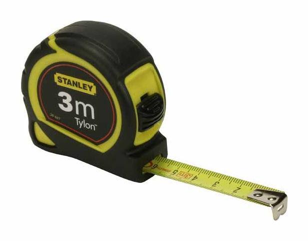 """Рулетка измерительная STANLEY """"Tylon"""" 3м х 12.7мм в пластмассовом корпусе"""