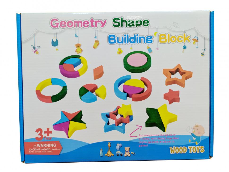 Деревянная игрушка Геометрика MD 2329 (2329B)