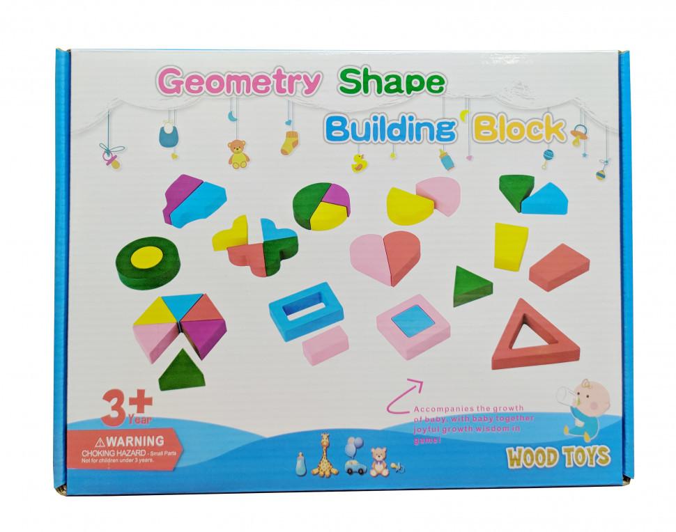 Деревянная игрушка Геометрика MD 2329 (2329D)