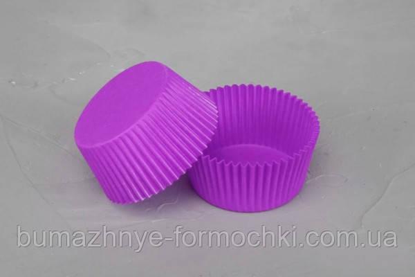 Формы для кексов из фиолетового пергамента, 45х35 мм