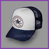 Кепка Тракер Converse 'Chuck Patch'   Тёмно-синяя с белым лбом