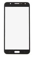 Стекло (для ремонта дисплея) Samsung J700H, DS Galaxy J7 (2015), черное