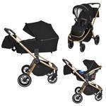 Детская коляска 3в1 CARRELLO Epica CRL-8511 Space Black