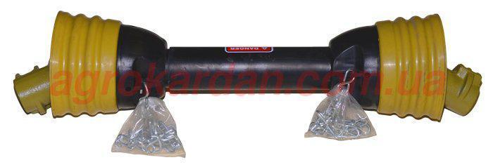 Вал карданний для сільгосптехніки 360 мм, хрест. 23,8х61,3, 6 шліц/8 шліц