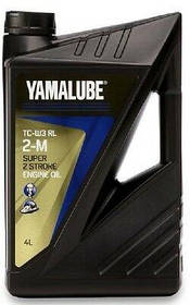 YMD-63021-04 Моторное масло YAMALUBE 2 Stroke Motor Oil 2T для 2-Тактных лодочных моторов 4литра