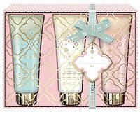Подарочный набор кремов для рук Baylis & Harding Pink Prosecco and Elderflower (Великобритания) 3 х 50 мл