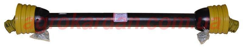 Вал карданний для сільгосптехніки 1010 мм, хрест. 28*73, 6 шліц/8 шліц