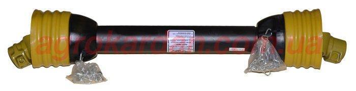 Вал карданний для сільгосптехніки 610 мм, хрест. 28*73, 6 шліц/8 шліц