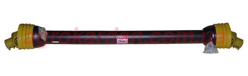 Вал карданний для сільгосптехніки 1660 мм, хрест. 35*98, 6 шліц/8 шліц