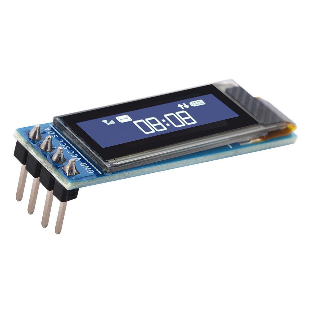 """OLED LCD РК дисплей/екран 0,91"""" 128x32 IIC - білий"""