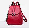 Рюкзак жіночий шкіряний Patekly міський, фото 2