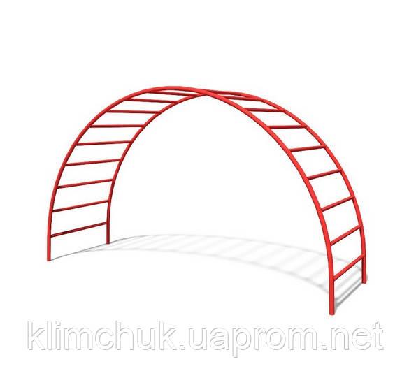 """Гімнастичний елемент """"Місток"""" для дитячих ігрових майданчиків KidSport"""