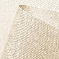 Рулонная штора Люминис ткань с перламутровым  напылением светоотражающая цвет шампань, фото 1